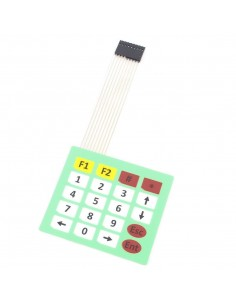 4x5 Matrix Keypad Membrane Switch