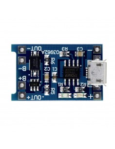 TP4056 Lithium Battery Charging Board 1A MicroUSB