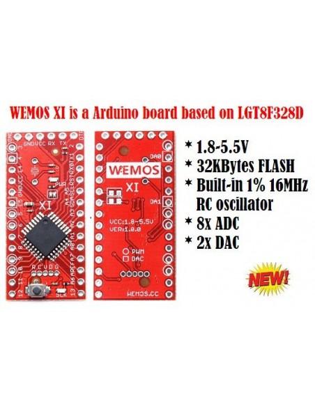WEMOS XI - LGT8F328D