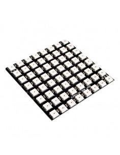 WS2812 LED 5050 RGB 8x8 64 LED Matrix