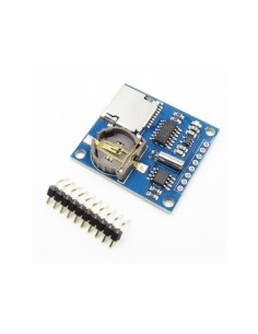 Data Logger with RTC and SD Card Slot
