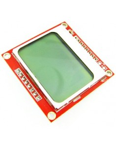 LCD 84x48 Nokia 5110 Black&White