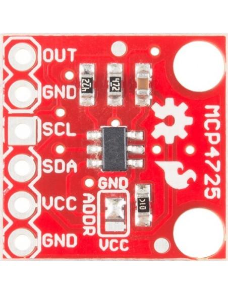 MCP4725 DAC I2C