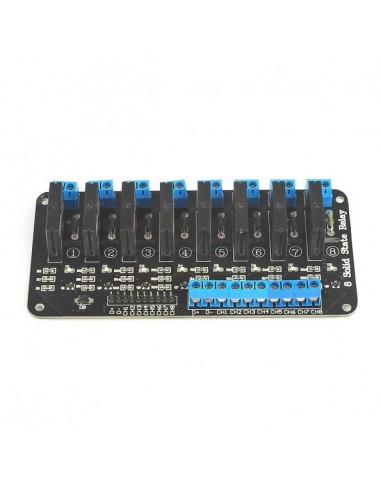 8 Channel Solid State Relay 5V