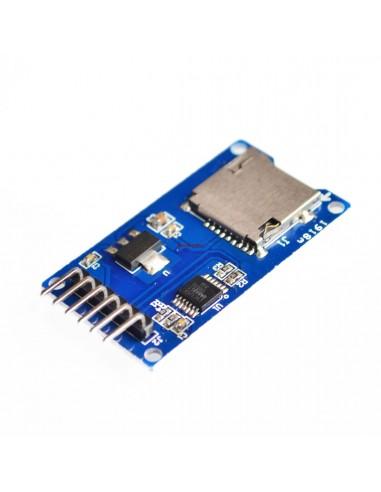 Micro SD card reader module SPI