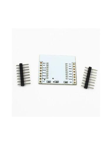 ESP8266 serial WIFI module adapter plate