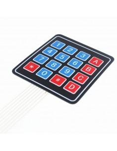 4x4 Matrix Keypad Membrane Switch
