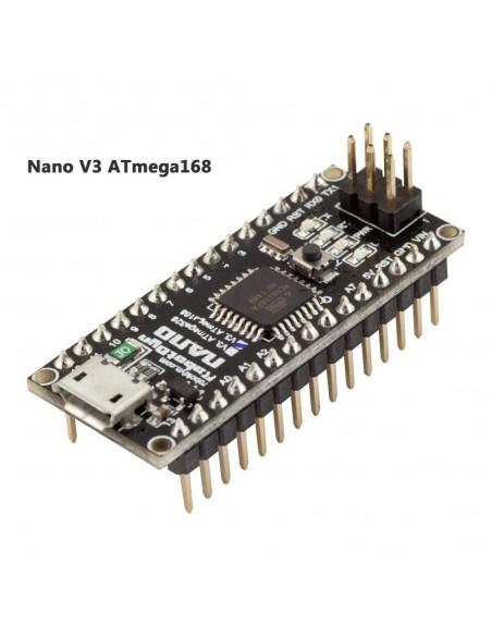 Nano V3.0 ATmega168/CH340 MicroUSB