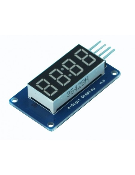 4 Bits Digital Tube LED Display Module TM1637
