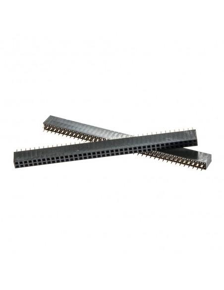40Px2 6x2.54mm female socket