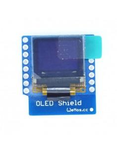 """OLED Shield for WeMos D1 mini 0.66"""" inch 64X48 IIC I2C"""