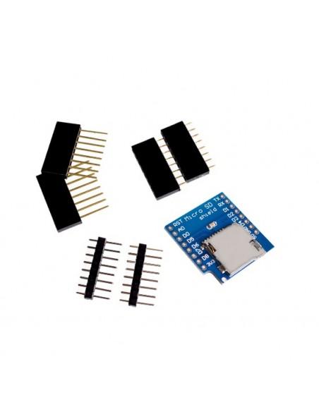 Micro SD Shield for WeMos D1 mini TF
