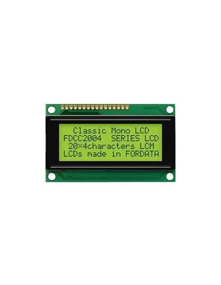 LCD 2004 GREEN (20*4 5V)