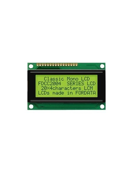 LCD 2004 I2C GREEN (20*4 5V)