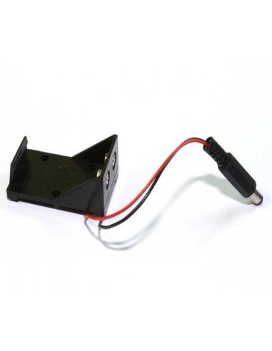 Bateriju turētājs - 9V Crona