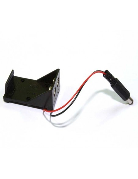 9V Cell Box, without Cover, DC