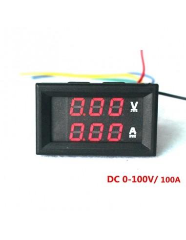 Digital DC Voltmeter Ammeter