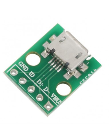 Micro USB to DIP 2.54mm Adapter