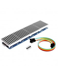MAX7219 Dot Matrix Module 4 In One Display with 5P Line