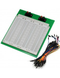 2860 Point PCB Breadboard with 65PCS Jumper Cable