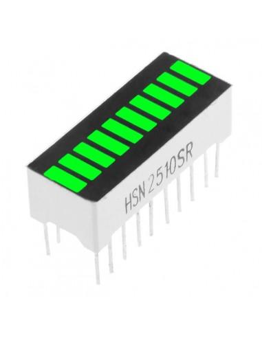 10 Segment digital Green LED bar display