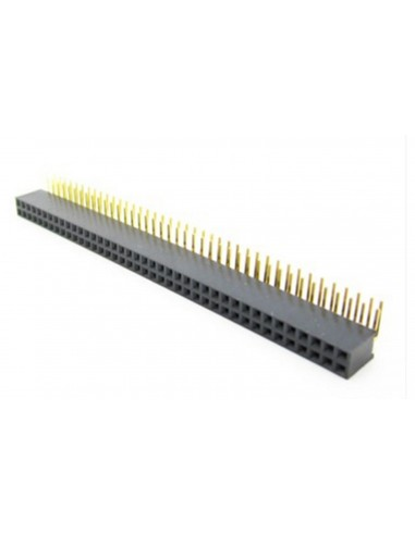 """Connector  40x2 Pin (""""female"""")"""