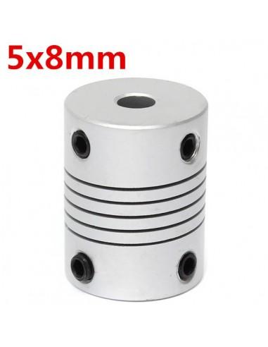 Stepper Motor Shaft Couplings Flexible 5*8*25 mm