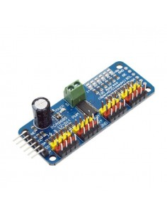 16 Channel 12-bit PWM/Servo Driver (I2C, PCA9685)