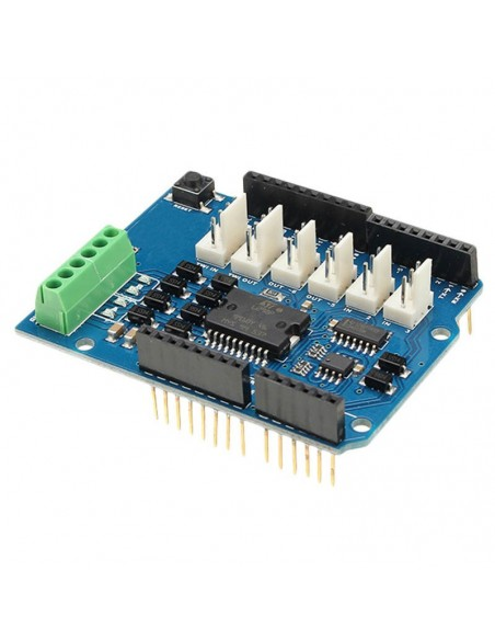 L298 Motor Shield (4A Dual Channel Motor Driver)