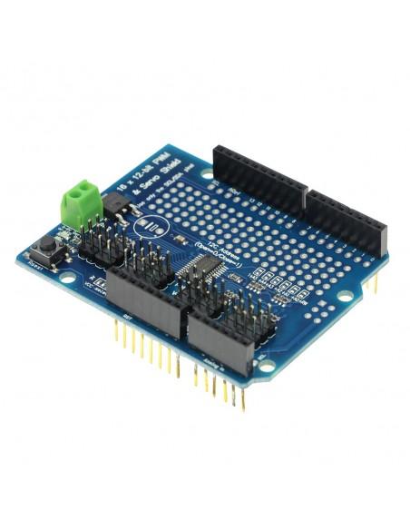 PCA9685 16 Ch/12-bit PWM/Servo Shield Driver I2C Interface