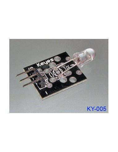Infrared emission sensor module