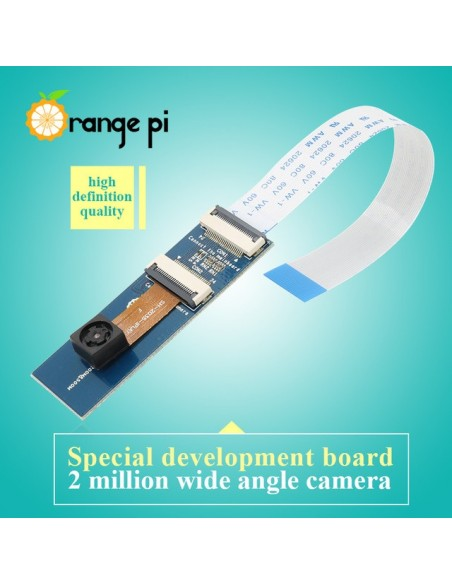 OPI 2MP Camera with wide-angle lens for Orange Pi PC /Pi One/PC Plus/Plus2e