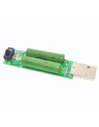 USB mini discharge load resistor 2A/1A