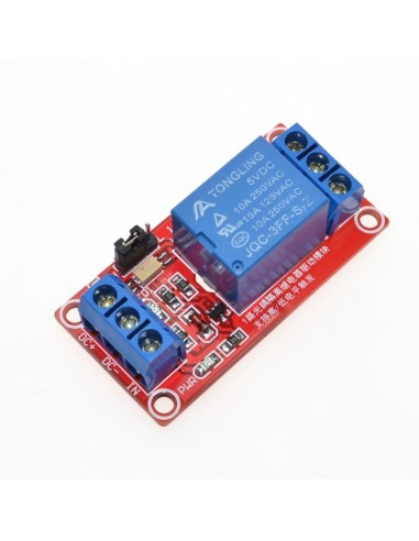 1 Channel Relay Module High and Low Level Trigger 5V