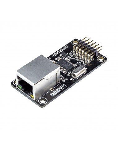 Ethernet Module - ENC28J60, Power In 3.3V/5V