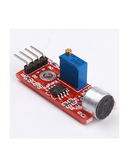 High Sensitivity Sound Microphone Sensor Detection Module For Arduino