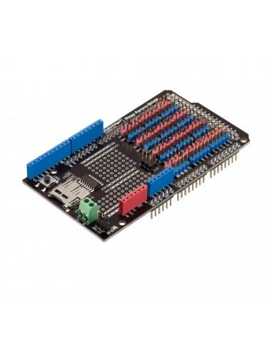 Sensor Shield for Arduino Mega 2560, with SD-card logger