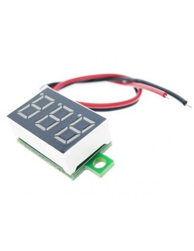 Digital voltmeter DC 2.7V-32V