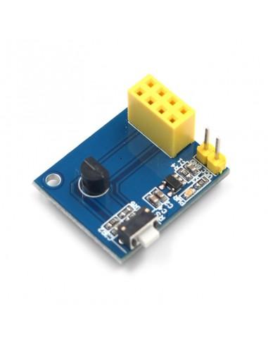 DS18B20 Temperature Sensor Module with ESP-01 interface