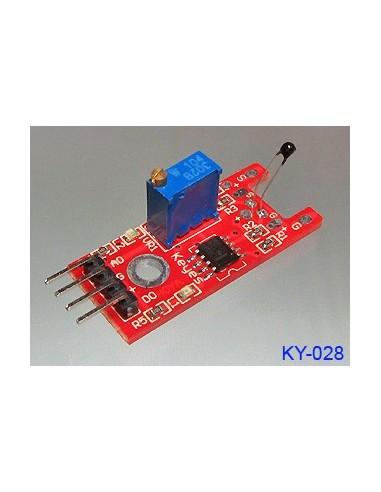 Digitālais temperatūras sensors