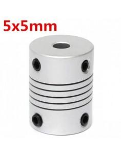 Stepper Motor Shaft Couplings Flexible 5*5*25 mm