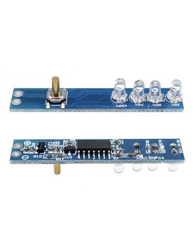1S 2S 3S 4S Lithium Battery Capacity LED Indicator