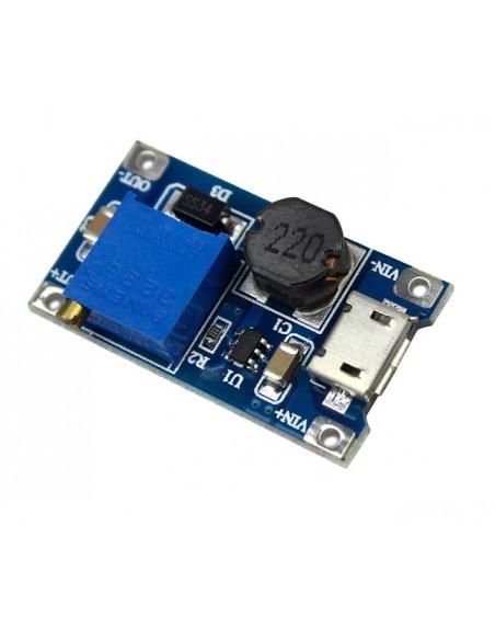 MT3608 DC-DC Step Up Power Module 2A MICRO USB