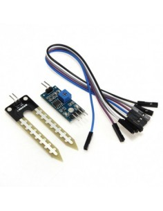 Soil Humidity Moisture Detection Sensor Module Compat for Arduino