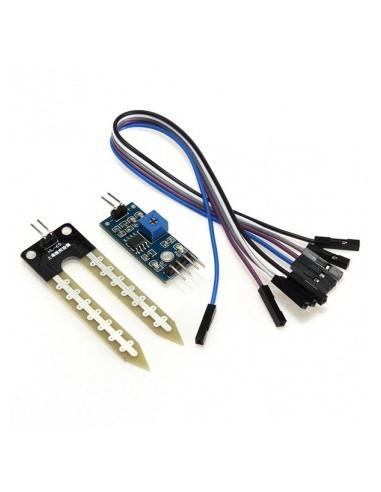 Soil Humidity Moisture Detection Sensor Module Compat for Arduino