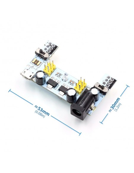 MB 102 (3.3V/5V - 700mA) Micro / Mini / Type C USB