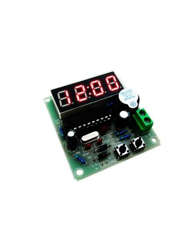 4 Bits Electronic Clock DIY C51