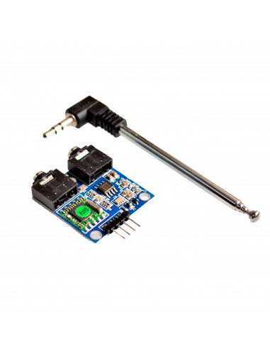 TEA5767 FM Stereo Radio Module 76-108MHZ With Free Cable Antenna