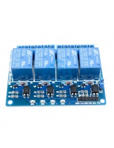 4-Channel 12V Relay Module low level