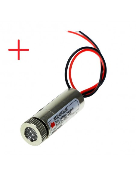 650nm 5mW Red Laser Cross Module